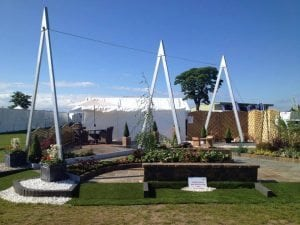 Cartmore Building supplies exhibition at Gardening Scotland